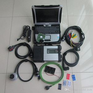 mb star c5 sd tool xentry vediamo dts hdd 320gb with toughbook cf-19 laptop diagnostic 12v 24v ready to use