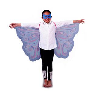 유니섹스 - 어린이 휴가 선물 나비 코스프레 정장 어린 소녀 군주의 날개 코스프레의 손님을위한 화려한 날개 세트 날개 + 마스크