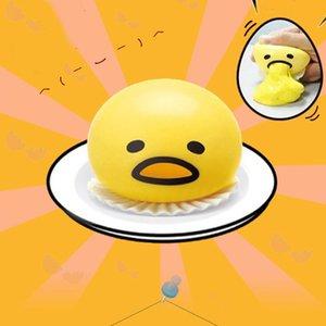 Nuovo 2 pz / lotto Gudetama Novità Pigro Sfogo Sfogo Stress Relief Good Times Bambola Giocattoli Per Bambini tricky toy simulazione uovo