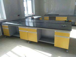 стальной деревянный стенд 7200*1500*850мм острова таблицы лаборатории мебели лаборатории центральный