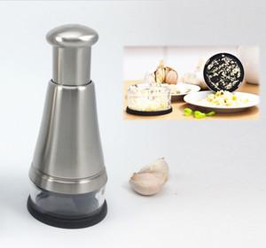 Nuevo diseño de acero inoxidable de alimentos Chopper cortador de verduras con cuchillo rodante Cuchillas afiladas Chop Dice And Mince Easy Salad Maker