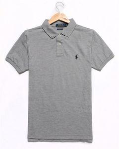 Бренд Дизайнер Поло Мужчины Женщины С Коротким Рукавом Рубашки Лондон Нью-Йорк Чикаго Поло Рубашки Мужские Рубашки Поло Высокого Качества Сплошной Цвет