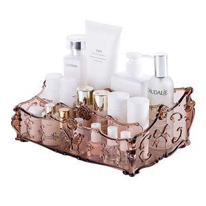 Cosmetici Scatola di immagazzinaggio Urijk Makeup Organizer Storage Desk Organizer per ufficio Prodotti in plastica per la cura della pelle Multigrid