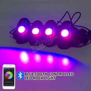 20x و4PC الكثير 9W RGB LED صخرة العمل الخفيف تشغيل مصباح الضباب لسيارة والتصميم شاحنة دراجة نارية الملحقات قارب
