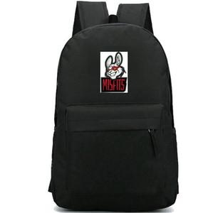 Misfits backpack Lol player daypack نمط لعبة حقيبة مدرسية أوقات الفراغ حقيبة الظهر الرياضة حقيبة مدرسية حزمة يوم في الهواء الطلق