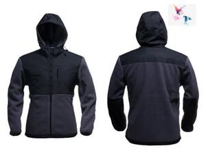 2018. BRAND UOMO Oudoor Polartec softshell norTh Giacca maschile Sport faccia felpa in pile da uomo cappotto apexs