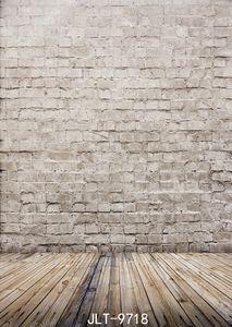 جدار من الطوب صور خلفية خمر أرضية خشبية الخلفيات التصوير الفوتوغرافي الخلفيات رمادي اللون البني لقطعة قماش الفينيل الاستوديو 3D