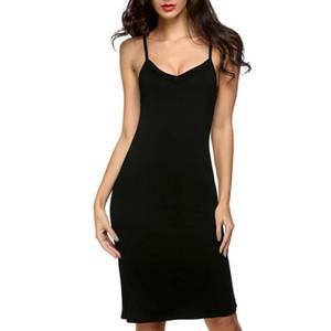 Senhora de Algodão Sexy Longo Camisola Feminino Nightshirt Camisola Ocasional Night Dress Homewear Camisola Plus Size Mulheres Chemise S923