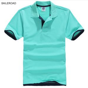 Nuevo Polo de hombre de marca de talla grande Camisa de manga corta de algodón para hombres Jerseys clásicos Hombres Tops Casual Stand Collar Camiseta de diseñador masculina