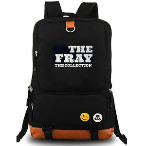El latido del corazón mochila mochila bolsa de la escuela al aire libre de la lona La batalla mochila Isaac Slade banda de rock de música portátil mochila mochila