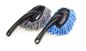 تنظيف السيارات، صغيرة فرشاة الشمع، وغسيل السيارات، وإزالة الغبار، متعددة الوظائف البسيطة الألياف نانو الشمع فرشاة، مركبة وتنظيف الجهاز