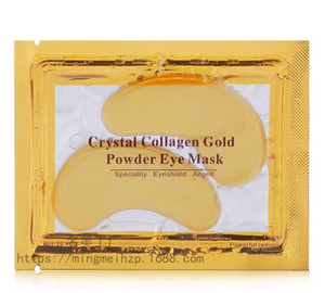 New Crystal Collagen Eye Masks Anti-puffiness moisturizing Eye Masks Anti-aging masks collagen gold powder eye mask