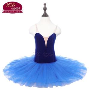 Kinder Blau Klassische Bühne Ballett Tutu Apperal Mädchen Schwarz Professionelle Balletttanz Kostüme Kinder Ballett Rock Erwachsene Dancewear