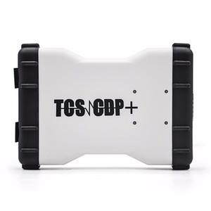 CDP TCS Pro cdp pro 2015 R3 keygen obd2 avec Bluetooth OBDII scanner outil de diagnostic pour voiture / camions comme lecteur de code pro MVD Multidiag