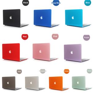 Nuevo Hot Crystal Clear Front + Back Funda protectora para Macbook 11 12 13 15 Air Pro Retina Nuevo Pro A1706 A1708 A1707