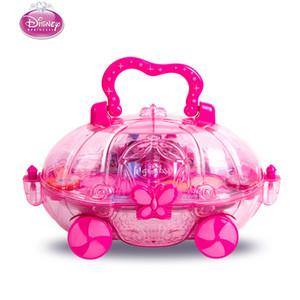 Princesse des enfants de maquillage de cosmétiques Performance fille Maison Eyeshadow Makeup voiture jouet jouer à faire semblant ensemble cosmétique pour enfant