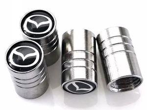 Auto Auto Wheel Wheel Valves Pneumatique Stem Air Caps Couvertures De Voiture Emblèmes pour Mazda 3 6 cx-5 2 Accessoires De Voiture Styling