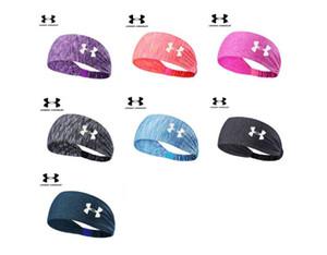 Esporte Headband Sob o Suor Wicking Stretchy Atlético Bandana Headscarf Yoga Headband Envoltório Cabeça Melhor para o Exercício Esportivo 2018