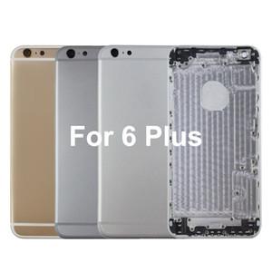 Für iphone 6plus Metallbackengehäusebatterieabdeckung für iphone 6plus Hintertürgehäuseaustausch für iphone 6 hinteres Gehäuse