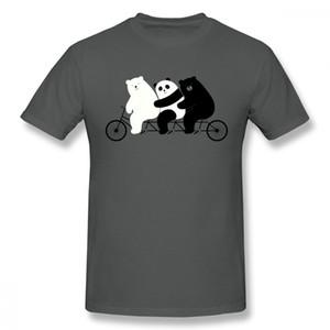 Oso Polar Camiseta Panda Tees Venta Caliente Moda Diseño Único Para Hombre Homme Ocasional Camiseta Hombres Camiseta Gráfica