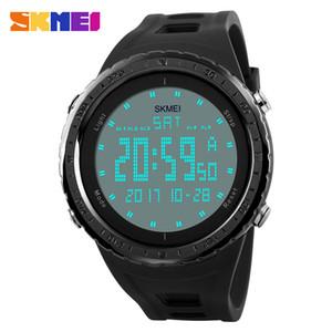 Militäruhren Männer Mode Sport Uhr SKMEI 1246 Marke LED Digital 50M Wasserdichte Schwimmen Kleid Sport Outdoor Armbanduhr