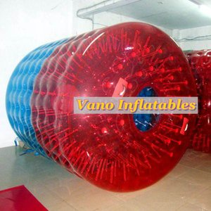 Inflatable Roller TPU 2.4x2.2x1.7m Commercial Water Walker Ball Human Hamster Wheel with Pump Free Shipping