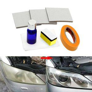 Автомобильная фара для полировки Анти-царапин DIY для автомобиля Фара головного света Увеличение видимости Комплект для ремонта фар Восстанавливает ясность