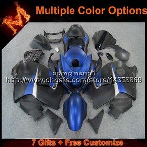 23colors+Gifts blue black Motorcycle Bodywork set Fairing for Suzuki 97 98 99 00 01 02 03 04 05 06 07 GSXR1300 1997 2007