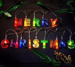 لوازم غرفة HAPPY BIRTHDAY رسالة LED قطاع مضيئة لحفلة عيد الميلاد الديكور أضواء سلسلة LED