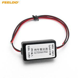 FEELDO 12V Araç Güç # 5350 Geri Görüş Kamerası Ripple Açılış Ekranı Girişim Röle Filtresi çözün Doğrultucu Balastlar Ters Filtreler