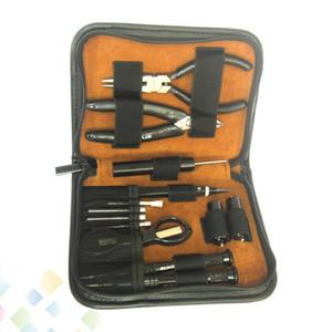 GT VAPE Tool Kit DIY Aracı Kiti ile Çok fonksiyonlu Cımbız Tornavida Çapraz Pense RDA RTA RBA Atomizer Bobin için Sarma Kiti Builder