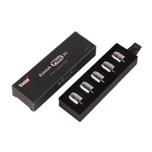 100% Original Yocan Evolve Plus XL Wax Coil tête QUAD Bobine Quatz Rod Bobines Fit authentique Evolve Plus XL Pen KitTank 2204048