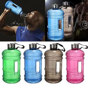 2.2L grande capacità bottiglia d'acqua sport palestra bottiglia d'acqua fitness campeggio in esecuzione brocca contenitore di plastica bottiglie d'acqua 8 colori WX9-794
