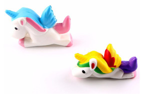 Toptan squishy unicorn uçan at yavaş ribaund sevimli ve kokulu ekmek kek squishies köpük oyuncak hediye