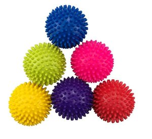 Boule de massage Spikey point boule de massage yoga balles Trigger pied roulant exercice Body Balance Point Massage Fitness Equipment pour les enfants Audlt