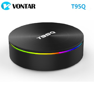 T95Q 4GB 32GB 64GB Android 9.0 Amlogic S905X2 TV BOX Quad Dual Core Wifi BT4.1 H.265 Smart Box
