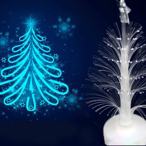 Christmas Tree Light Color Changing LED Light Lamp Room Decoration Ornament Small Night for Home Party Festival