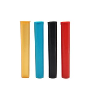 "116MM / 4.57 ""أنبوب دوبول فيال ماء محكم الرائحة رائحة إثبات ختم عشب / حاوية تخزين التوابل حالة لون عشوائي"