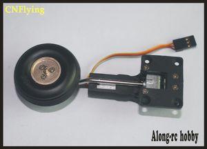 Frete grátis 25g retrátil trem de pouso servo com roda PU RODA OU EVA RODA para RC hobby modelo de avião modelo de avião parte de reposição