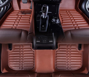 For 2009-2018 year Ford Fiesta 3 Car Floor Mats Front & Rear Liner Waterproof Mat