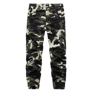New Streetwear Camouflage Mens Pants 2018 Moda Casual Autunno Pantaloni a matita Street style Hip Hop Mens Jogger Pantaloni Camo Plus Size for