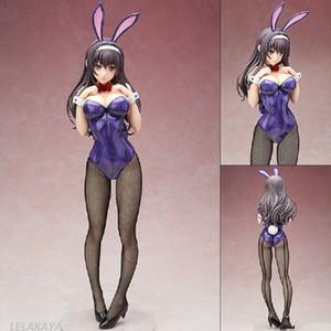 Japon figure Anime Kasumigaoka Bunny Girl action oreilles de lapin Bikini Utaha ver collection de jouets de modèle de PVC sexy lapin poupée