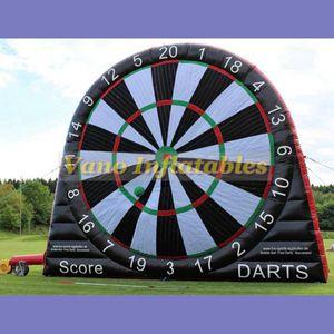 Fútbol Dardo en venta Inflable 3 m 4 m 5 m 6 m Comercial inflable Fútbol Dart Game Board con soplador Envío Gratis