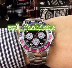 El reloj de los hombres de alta calidad más vendido en el mundo Reloj de acero inoxidable de plata Reloj de los deportes mecánicos de lujo mecánico automático en el mundo