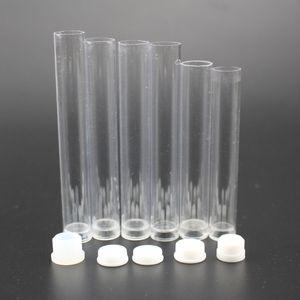 Cartucho de vidro vaporizador pp tubo de 0.5 ml 1 ml de plástico tubo transparente recipientes para cartucho bud atomizador embalagem OEM etiqueta privada