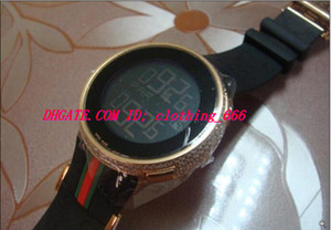 Luxury Wristwatch Mens Digital Rose Gold Diamond Watch 44mm YA114207 Quartz Fashion Men's Watch Top Quality