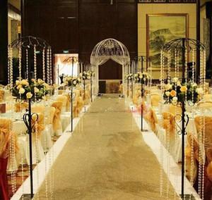 1.2 متر واسعة × 10 متر / لفة لامعة الذهب الترتر بيرليسسينت الزفاف السجاد الأزياء الممر عداء t محطة السجاد للحزب الديكور الإمدادات