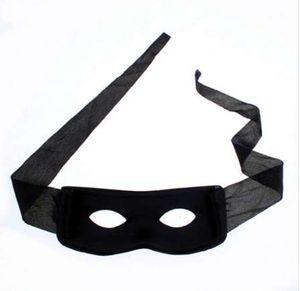 Hot Halloween Supplies Party Mask Red Black Hombres Adultos Mujeres Villano Broma Bandit Zorro Eye Mask Theme Party Disfraz de Máscaras