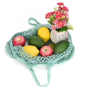 Uygun alışveriş örgü çanta Net Kaplumbağa Çanta Dize Kullanımlık Meyve Depolama Çanta Tote Çevre Bakkal Çantası