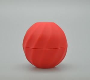 فارغة التجميل الكرة الحاويات 7 جرام 5 ألوان الشفاه بلسم جرة العين لمعان كريم عينة حالة أحمر برتقالي بنفسجي أخضر أسود